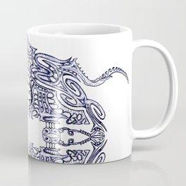 Alien Abstract Coffee Mug