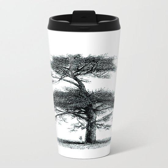 Big tree Metal Travel Mug