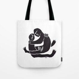 Moonflower Warrior Tote Bag