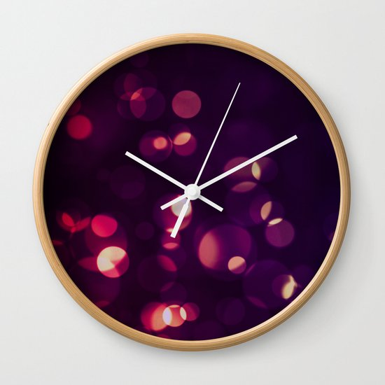 Glowing II Wall Clock