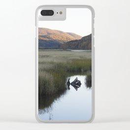 Autumn Glory Clear iPhone Case