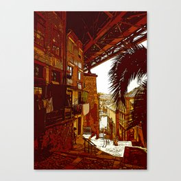 escadas codecal Canvas Print