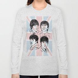 Face The Fab Four 2 Long Sleeve T-shirt