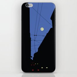 Moon lines iPhone Skin