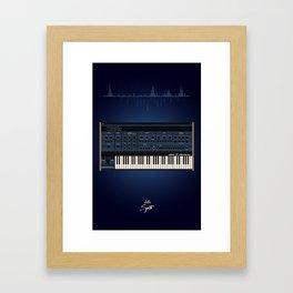 The Synth Project - Oberheim OB-XA Framed Art Print