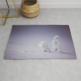 Snowy creatures - Landscape and Nature Photography Rug