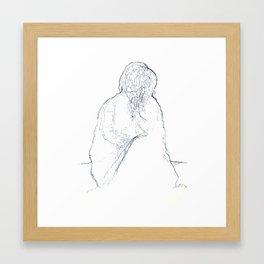 Whisper I love you Framed Art Print