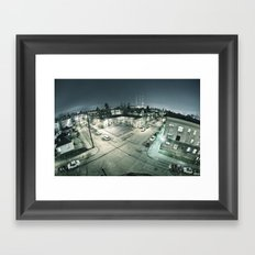 Capitol Hill - Seattle Wa Framed Art Print