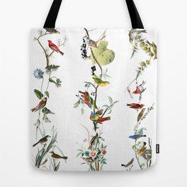 Birds - Art - Vintage - Pattern - Illustration - Nature Tote Bag