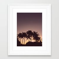 florida Framed Art Prints featuring Florida by Whitney Retter