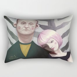 Lost in translation  Rectangular Pillow