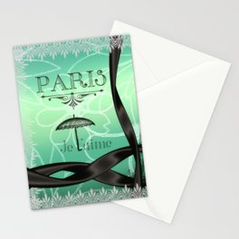 Paris... Je t'aime Stationery Cards