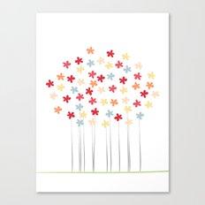 Delicate Blooms Canvas Print