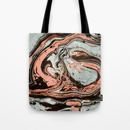 Abstract luxury painting marble Tote Bag