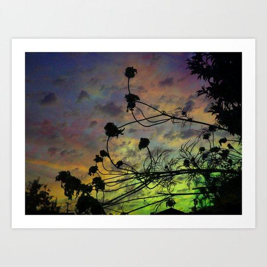 Prism Sun Art Print