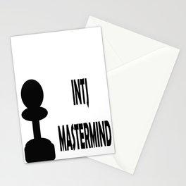INTJ MASTERMID MBTI rare personality type Stationery Cards