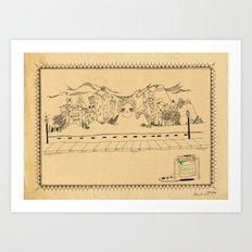 Creative Village Art Print