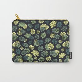 Succulents Pattern Carry-All Pouch
