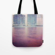 Hotels on the water Tote Bag
