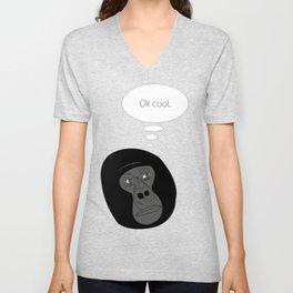 Fed Up Gorilla Unisex V-Neck