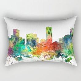 Denver, Colorado Skyline SP Rectangular Pillow