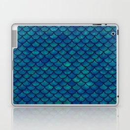 Mermaid scales iridescent sparkle Laptop & iPad Skin