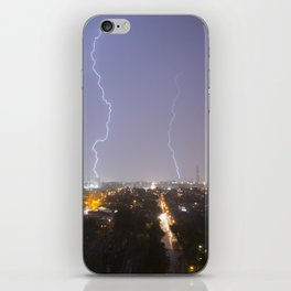 City Lightning. iPhone Skin
