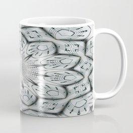 Sheet Music Abstract Coffee Mug