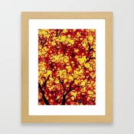 Fall 1 of 2 Framed Art Print