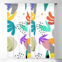 MATISSE ABSTRACT CUTOUTS Blackout Curtain