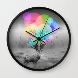 Calm Within the Chaos Wall Clock