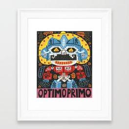 Robotito Framed Art Print