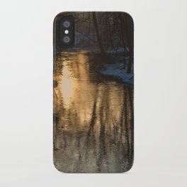 Early Morning Winter iPhone Case