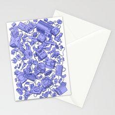 Retro Gamer - Blue Stationery Cards