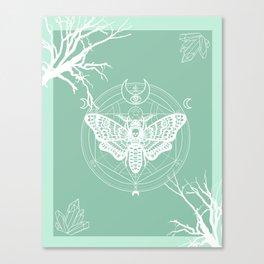 Witch Craft Mint Canvas Print