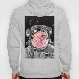 Astronaut Flowers Selfie Hoody