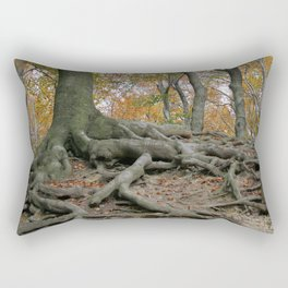 Tree roots | Baumwurzeln Rectangular Pillow