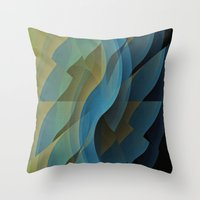 wings Throw Pillows featuring Wings by David Lee