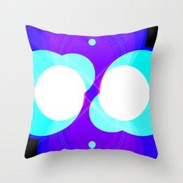 Chrome I Throw Pillow