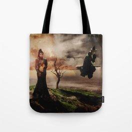 Fiery Queen Tote Bag