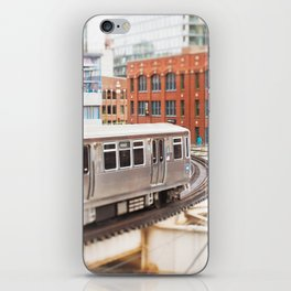 Chicago Train Photography - 3426 iPhone Skin