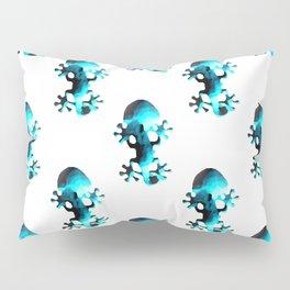 Gecko II Turquoise Pillow Sham