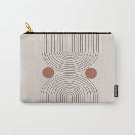 Modern Minimalistic Art Carry-All Pouch