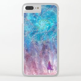 Aligning To Divine Energies Clear iPhone Case