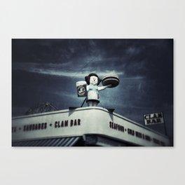 Clam Bar - Coney Island Canvas Print