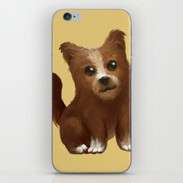 Baby dog iPhone Skin