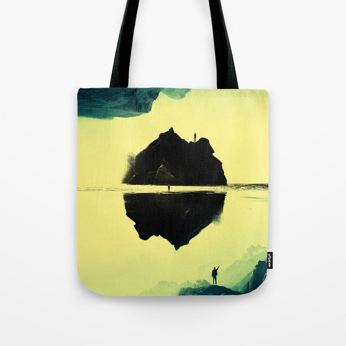 Triple Isolation in Green Tote Bag