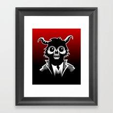 Monkey Demon Framed Art Print
