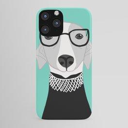 Ruth Bader Ginsburg Greyhound iPhone Case