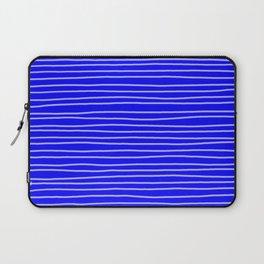 Cobalt Pinstripes Laptop Sleeve